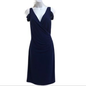 Ralph Lauren women's cold shoulder dress size 12